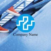販売ロゴ番号0453 – 階段とプラスのロゴ