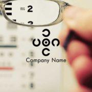 販売ロゴ番号0464 – 眼科クリニックにオススメのロゴ