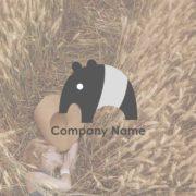 販売ロゴ番号0472 – 夢を食べるバクのロゴ