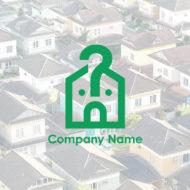 住まいのことなら何でも相談ということを表している家のキャラクターのロゴ