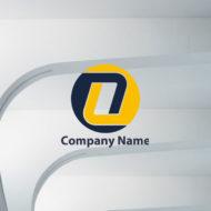 英字ロゴ:アルファベットOをデザインしたロゴマーク