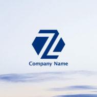 六角形とZのロゴマーク |  販売ロゴ作成サービスの「ロゴマークガーデン」
